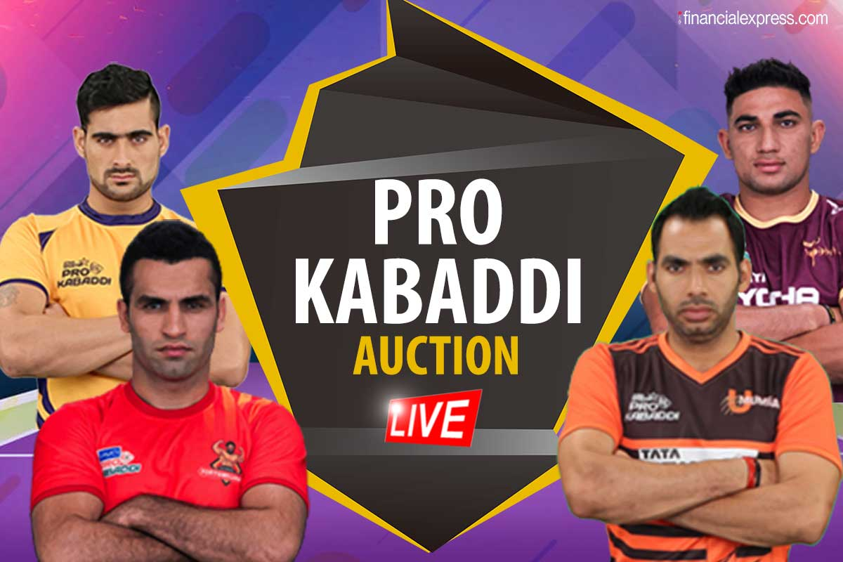 Pro Kabaddi auction