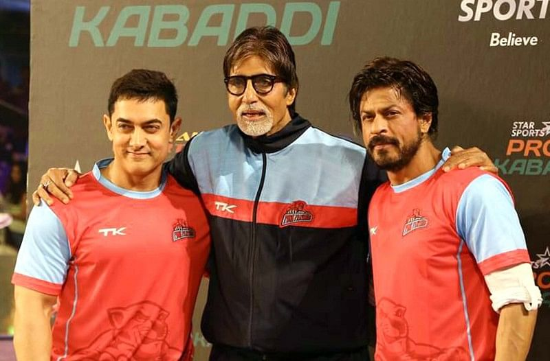 Amitabh Bachchan contributed to the Kabaddi Professional League