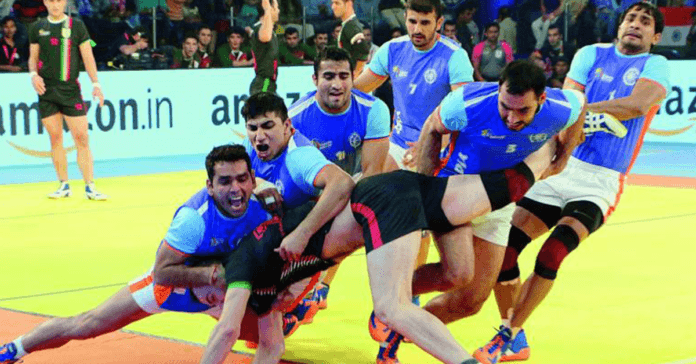 Kabaddi, betting on India